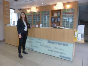 Clémence Gouriau, directrice de l'Office de Tourisme d'Amboise.