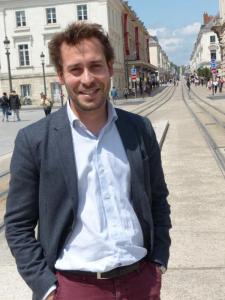 Le Tourangeau Arnaud Burgot, 32 ans ans,  directeur général de Ulule.