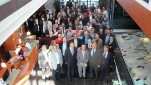 Mardi 16 septembre, à l'hôtel communautaire de Tour(s) plus, élus et acteurs de l'économie numérique ont soutenu le projet de candidature de Tours à la labellisation « Métropole French Tech ».