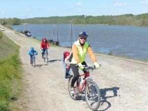L'an dernier, 935.000 cyclistes ont fréquenté la piste Loire à Vélo entre Cuffy et Saint-Brévin l'Océan.