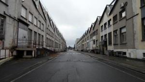 Cette partie sud de l'usine sera démolie puis dépolluée. Au total, 24 sur les 32 ha retrouveront de nouvelles activités économiques.