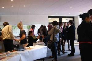 Une belle occasion de rencontres entre étudiants et professionnels.