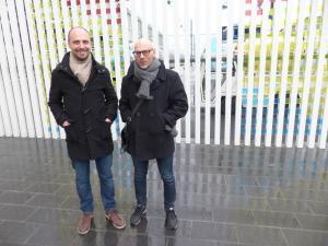 Nicolas Oppenchaim et Jean-Philippe Fouquet : « Dans un couple de migrant professionnel, il y a souvent un perdant… ». (Photo NR)