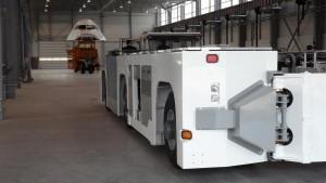 Le Taxibot, tracteur pour avion conçu par TLD. (Photo NR)