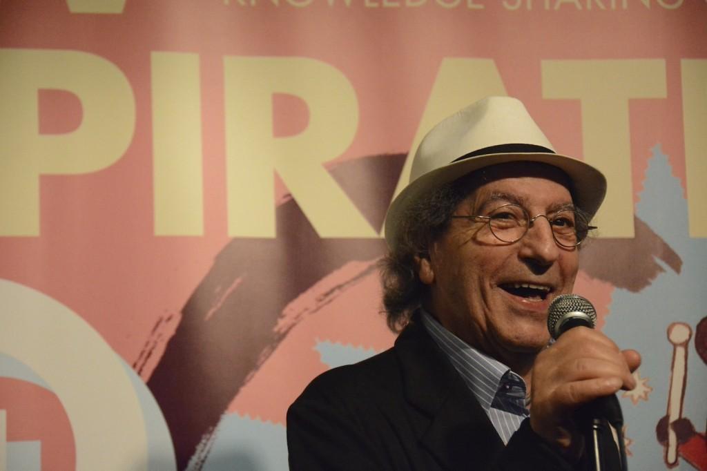 Areski Belkacem lors de la conférence de presse à Hong Kong. (Photo Nicolas Albert)