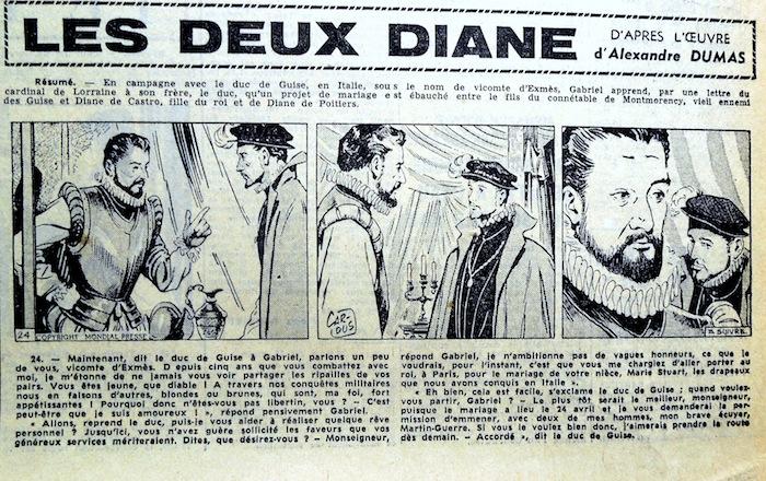 Succédant à Larraz, les adaptations de grands classiques de la littérature vont fleurir. Comme ces Deux Diane qui n'ont pas laissé une trace impérissable.