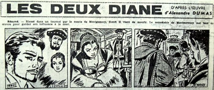L'une des bandes illustrées par Fusco. Le trait de l'Italien (il est né à Vintimille) n'est quand même pas un copié-collé du Catalan.
