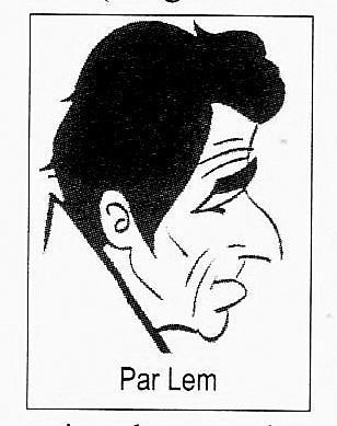 Le trait de LVT est lui aussi facilement reconnaissable et très différent de celui de Siro. Ou de celui, bien plus rond, de Maurice Tournade qu'il précédera dans la publication d'une semaine politique hebdomadaire.