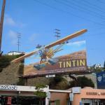 adventures Tintin billboard