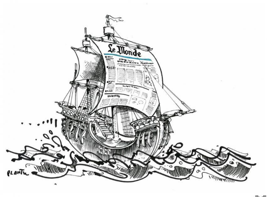 Le bateau Le Monde