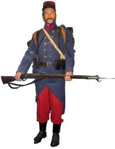 L'uniforme du soldat français au débutde la guerre