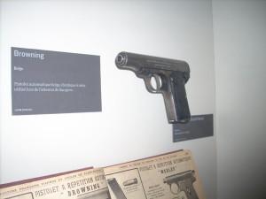 C'st avec une rame de ce type ici exposée au musée de Meaux, que Gavrilo Princip assassina l'archiduc François-Ferdinand et son épouse, Sophie.