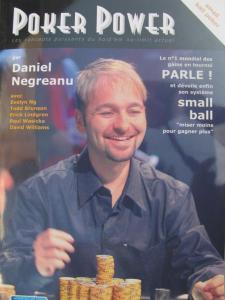 L'un des livres de Daniel Negreanu