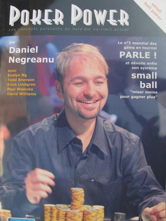 Daniel negreanu small ball poker book