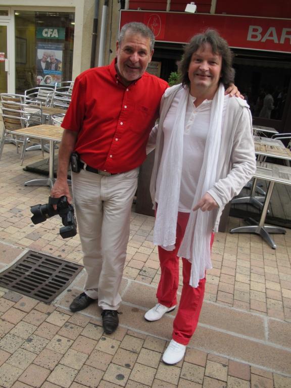 Gilles Colosio et Eric Bellet