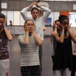 Les stagiaires de l'atelier comédie musicale. ( Photo NR, Patrick Gaïda)