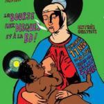 L'affiche de la 30e bourse aux disques de Radion Béton, dessinée par Daniel, du Fanzine Chéribibi.