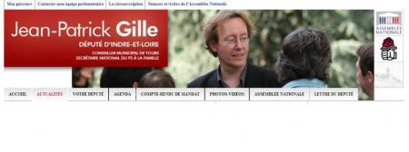 Site de Jean-Patrick Gille