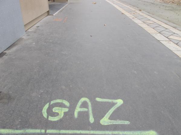 Premier exemple de grafiti crypto-tram