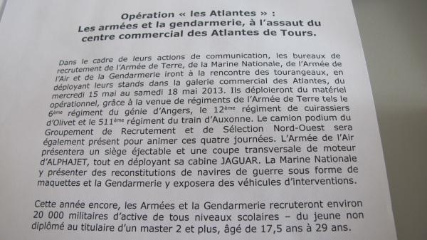 L'opération Les Atlantes est lancée...