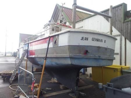 Le bateau Jean Germain II