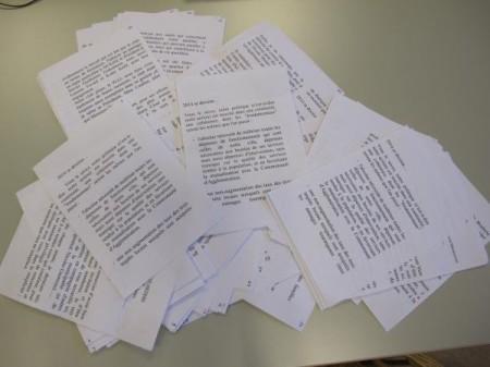 Les discours du maire dans les quartiers: 45 pages en format A5