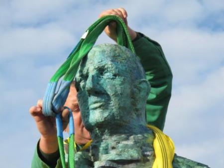 La statue du Général de Gaulle