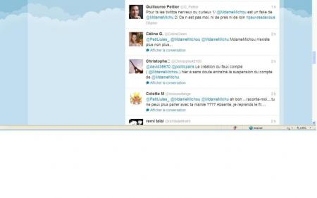Tweet envoyé par Guillaume Peltier en réponse à la tornade.