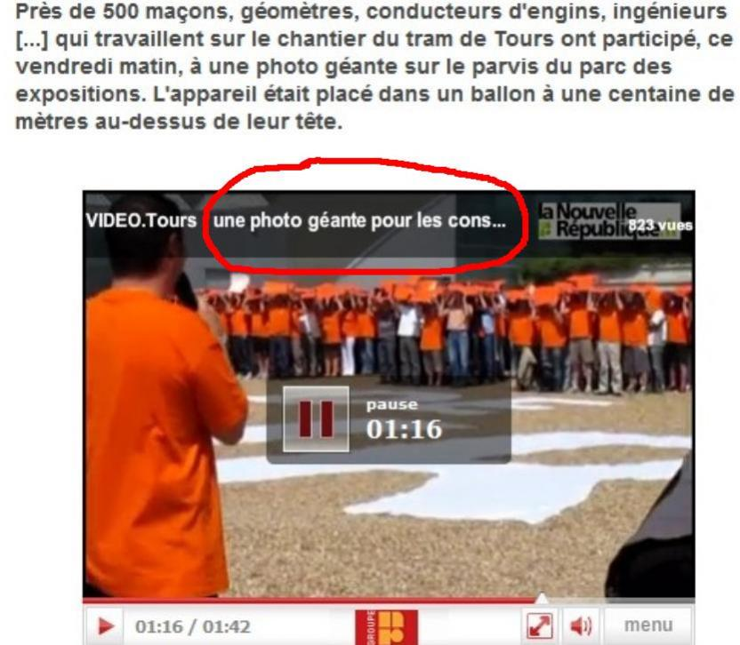 VIDEO ILS FONT LE TRAM