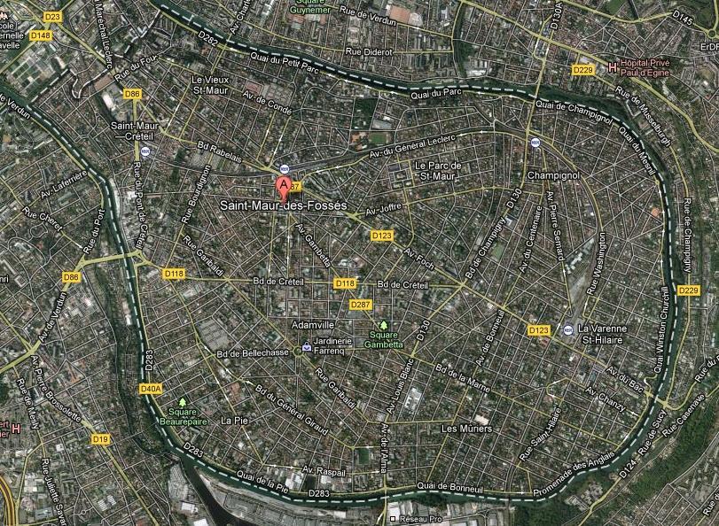 Logements sociaux 1 2 saint maur des foss s la ville for Garage place des marronniers saint maur
