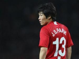 Le Coréen de Manchester United Ji Sung Park