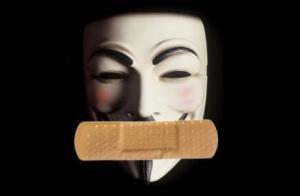 Anonymous bayonné par la SOPA