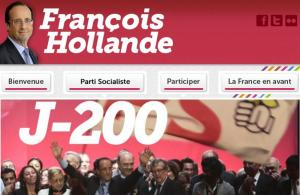 Site officiel de François Hollande.